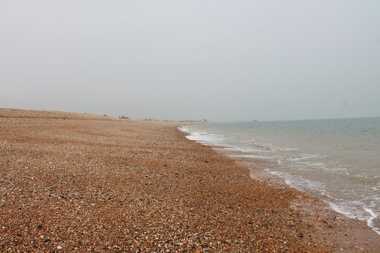 Walmer Beach: Pebble beach between Walmer and Deal