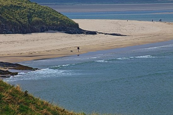 Fairfield Guesthouse: Beautiful deserted beach on Holy Island