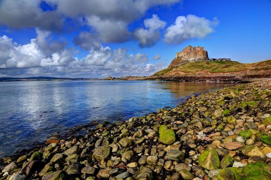 Fairfield Guesthouse: A sparkling day at Holy island