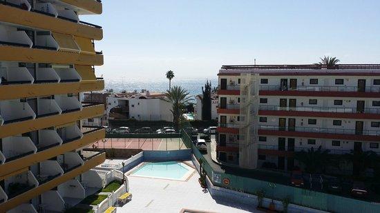 Las Arenas Apartamentos: Aussicht