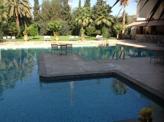 Hotel Atlas Terminus & Spa: photo piscine le 11/9/2014 au matin