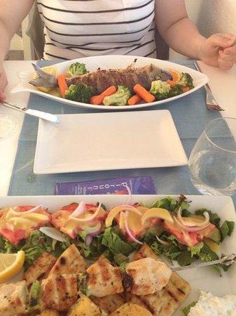 Pirouni: dinner