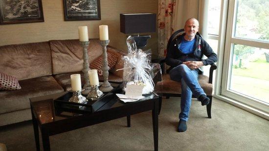 Hotel Union Geiranger: Fornøyd mann