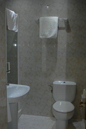 Hotel Santa Cruz: Baño