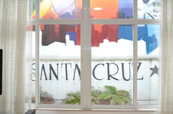 Hotel Santa Cruz: Patio interior