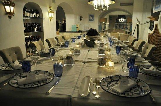 Hotel Villa Franca: Tavola di compleanno