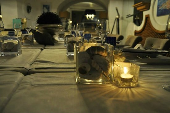 Hotel Villa Franca: Dettaglio tavola