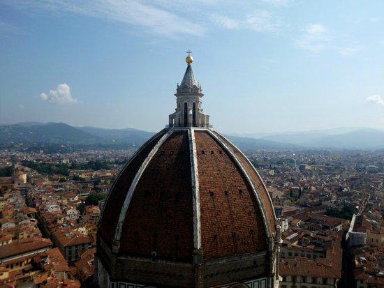 Trattoria La Gratella: vista dal Campanile di Giotto
