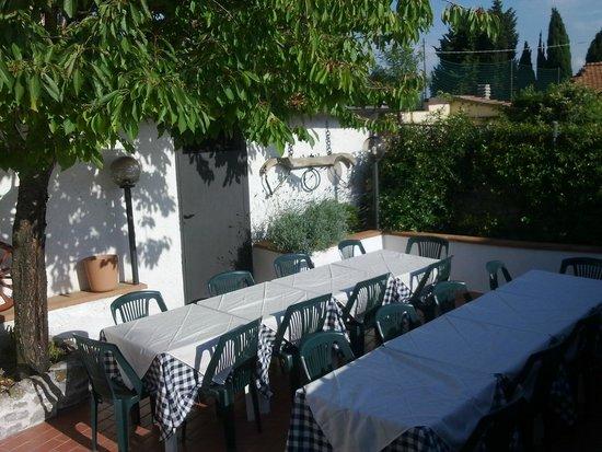 terrazza scoperta - Picture of Ristorante Pizzeria La Botteghina ...