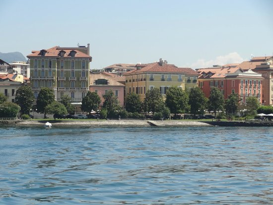 Hotel Belvedere : hotel vu du lac