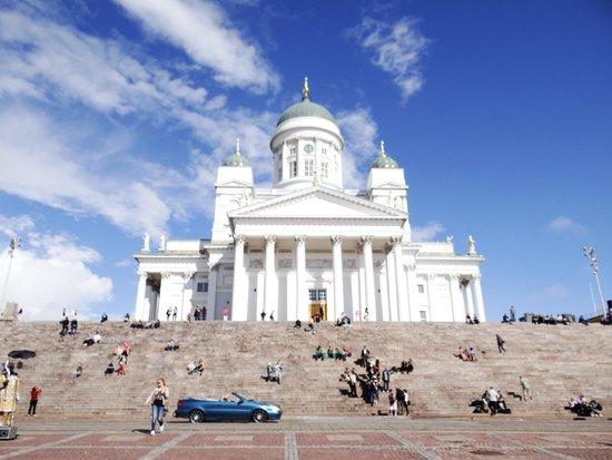 Original Sokos Hotel Helsinki : catedral luterana