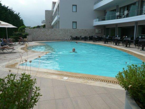 Castello Boutique Resort & Spa: pool from restaurant area