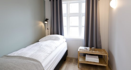 old charm reykjavik apartments bedroom with 1 single bed - Single Bed Bedroom Design