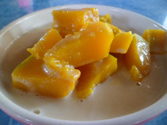 The Kitchen: pumpkin in coconut cream