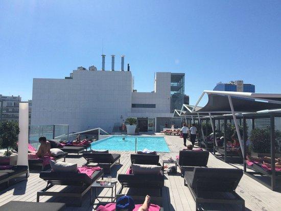 Epic Sana Lisboa Hotel Rooftop Pool