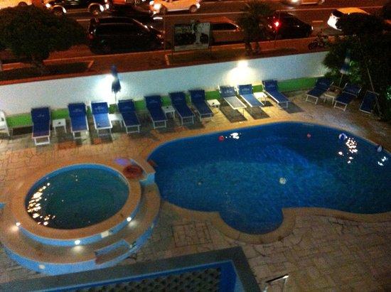 Hotel Eco del Mare : Vista Piscina dal Balcone della Camera