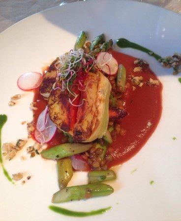 Restaurant  MEKK : Vegetarian dish