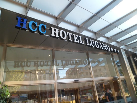 HCC Lugano : ENTRATA HOTEL
