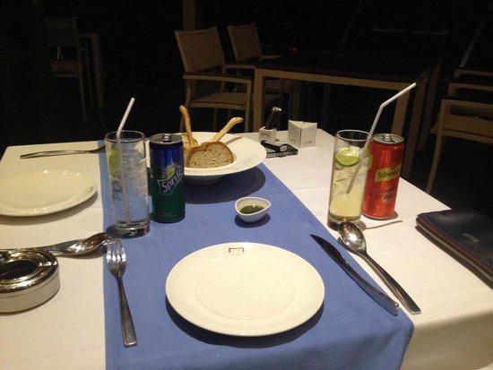 KC Resort & Over Water Villas: Ужин на двоих