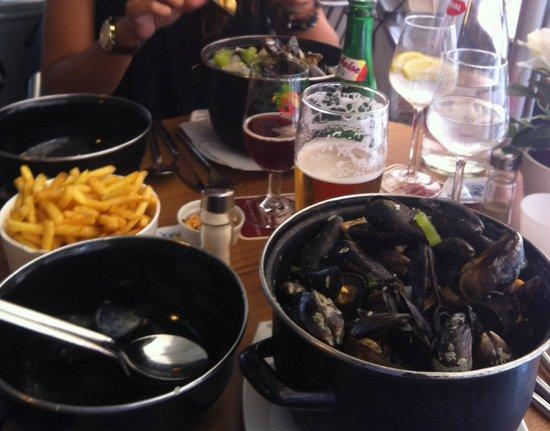 Brasserie Strijdershuis: moules