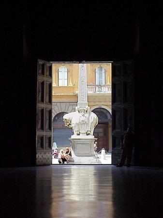 Santa Maria Sopra Minerva: Contre jour. Sta Maria sopra Minerva