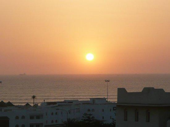 Hotel Timoulay & Spa Agadir: Sunset