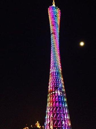 Pearl River (Zhujiang) : Guangzhou Tower