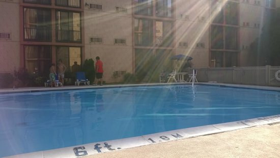 Wyndham Garden Hotel Newark Airport: Pool