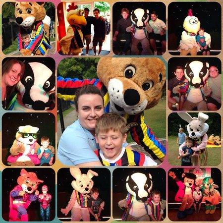 Tolroy Manor Holiday Park: Entertainment team! Stripeys!