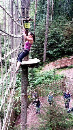 Go Ape: Where your gloves might come in handy