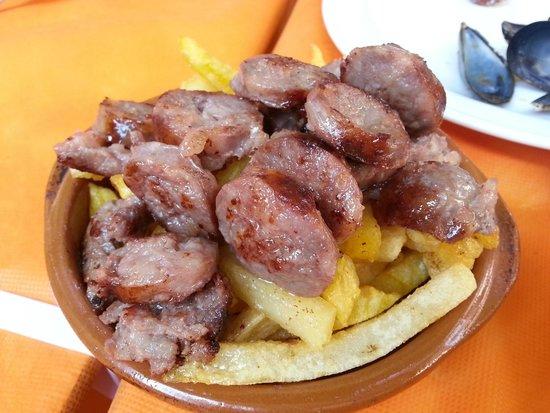 El Rall: salsiccia e patate