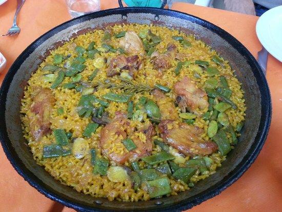 El Rall: paella valenciana