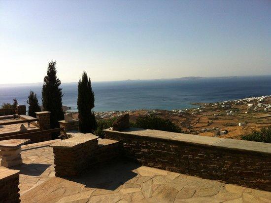 Thea Thalassa Studios: View from the balcony
