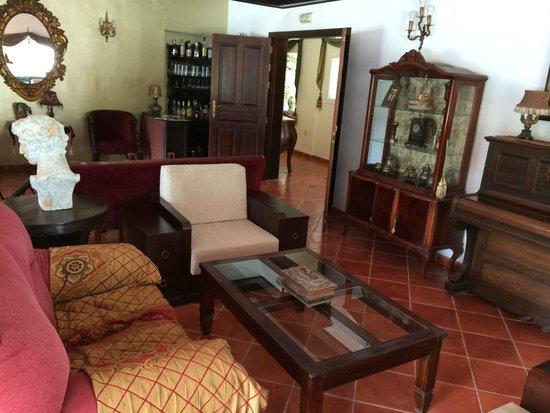 Malaga Hotel Picasso : lobby - ładne z klimatem pensjonatu