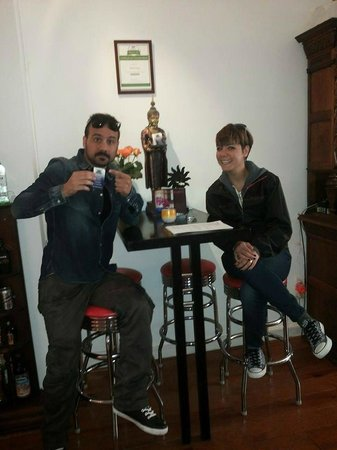 B&B Barangay: Me and my wife