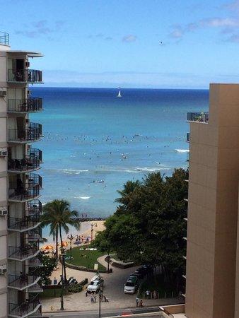 Waikiki Resort: ラナイからの眺め(*^^*)