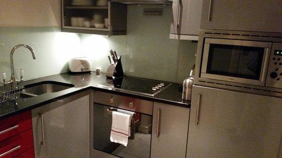 The Harrington : Full kitchen