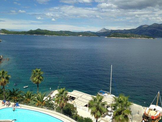 Lafodia Hotel & Resort: Aussicht Balkon