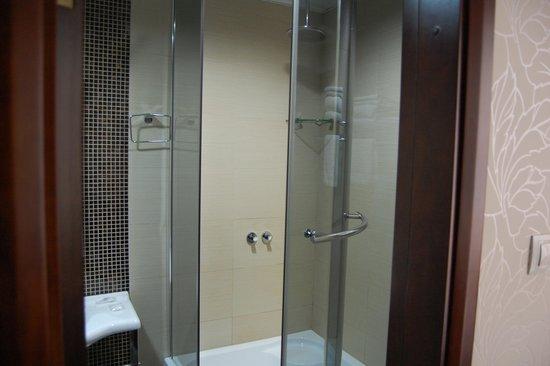 Boutique-Hotel Khabarovsk City: The shower