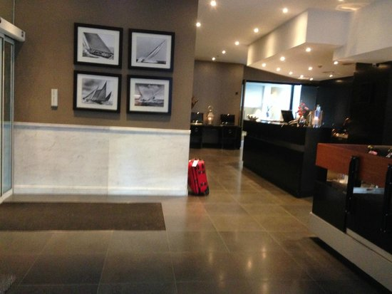 Hotel Piet Hein : Reception