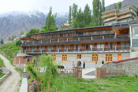 Hotel Hunza Embassy: Hotel View