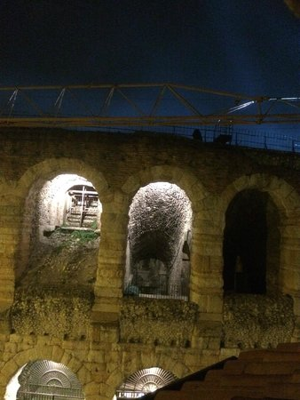 Truly Verona: view from the open window  - Arena Opera