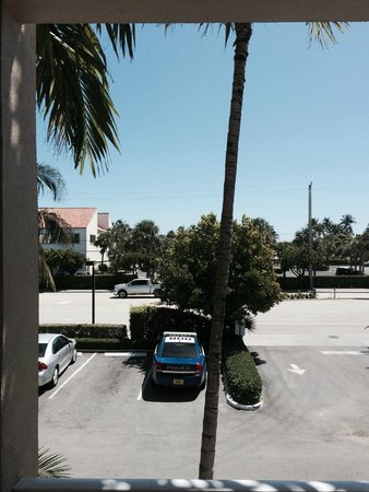 Fairfield Inn & Suites Palm Beach: View from Room Window