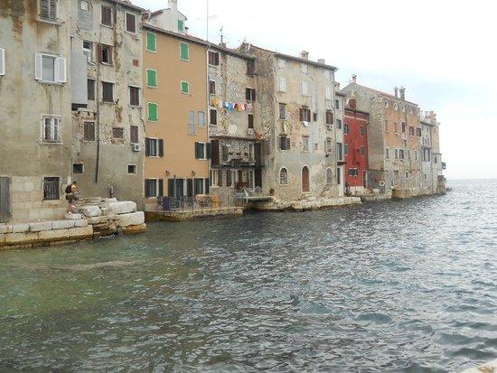 Island Hotel Istra: Back of the market in Rovinj