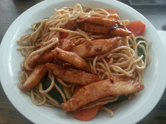 noodle with chicken!
