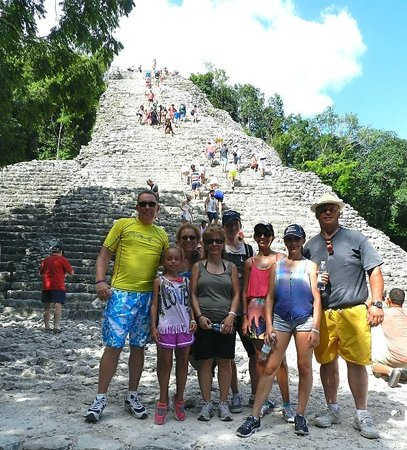 Playa del Carmen Tours: Our family in COBA 2014