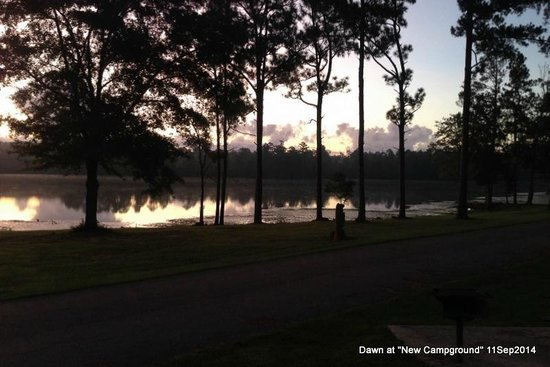Paul B. Johnson State Park : dawn at New Campground