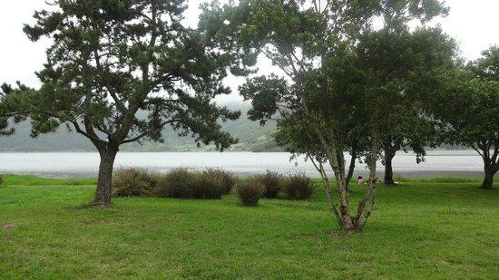 Lagoa Azul, Sao Miguel Acores: Lago Azul visto dal basso