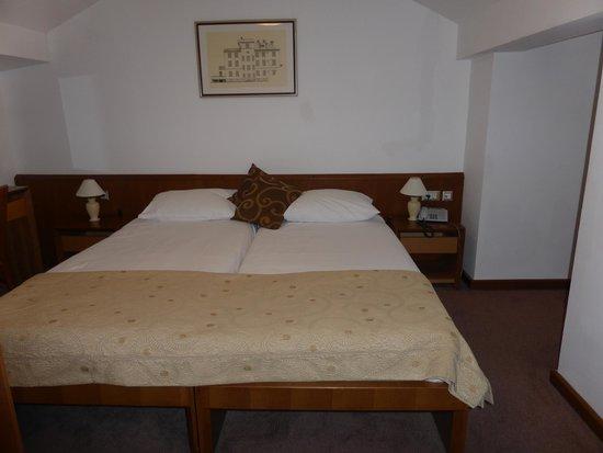 Hotel Zagreb: Chambre