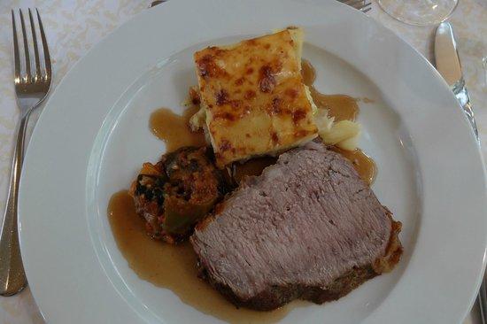 Gastronomie Vierwaldstattersee : Entrecôte an Portweinjus (sic!)